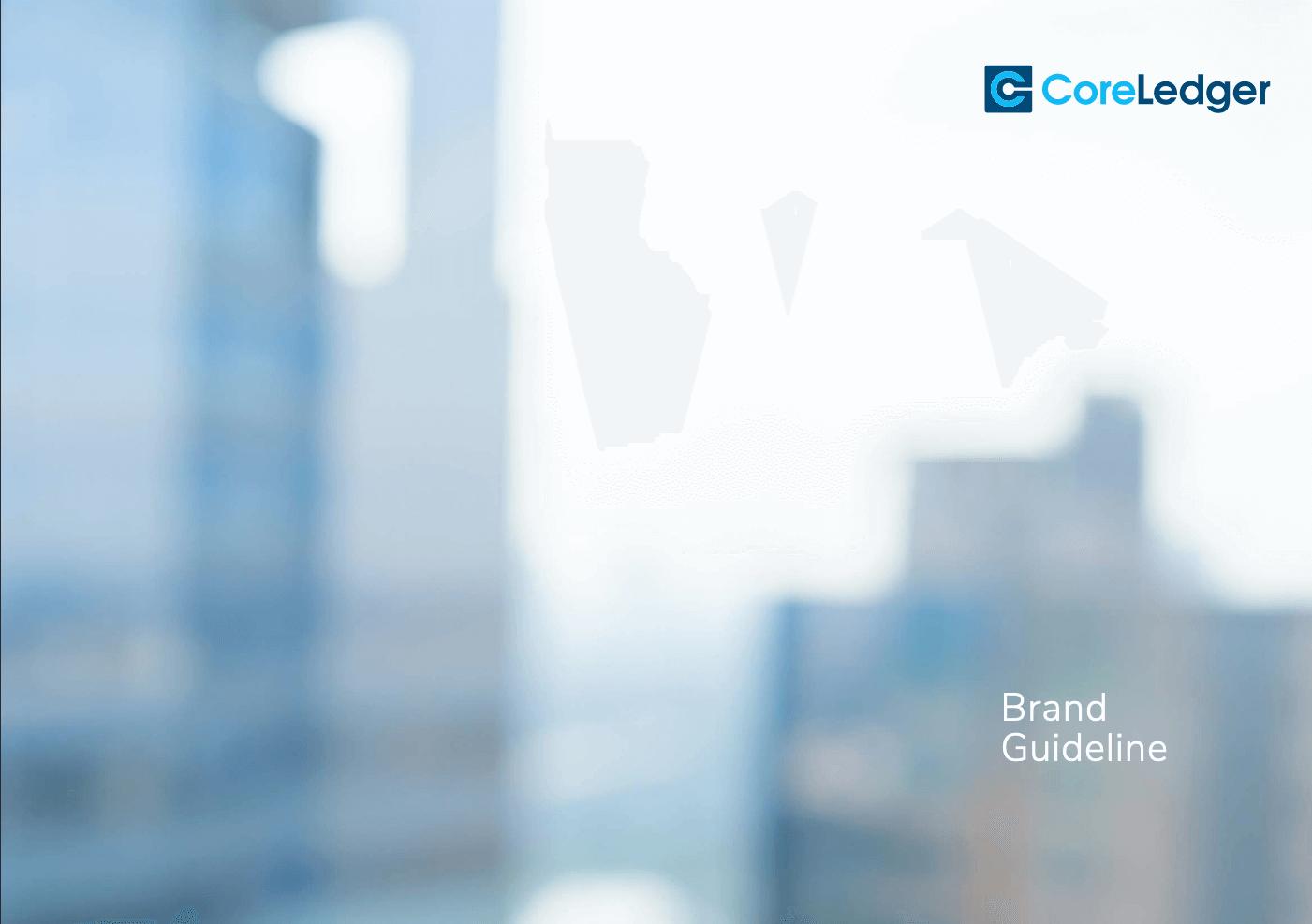 CoreLedger Brand Guidelines